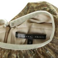Theyskens' Theory Maxi jurk gemaakt van zijde