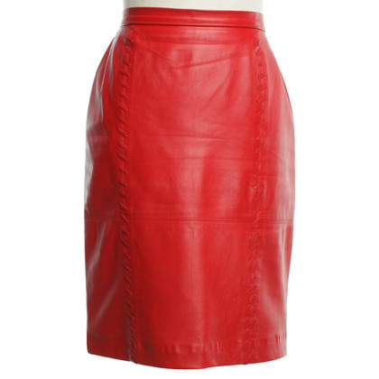 Givenchy Lederrock in Rot