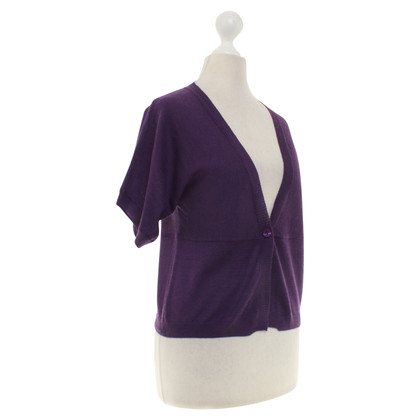 Allude Cashmere jacket in purple
