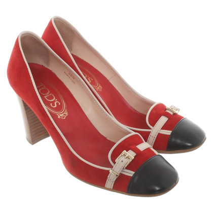 Tod's pumps in tricolor