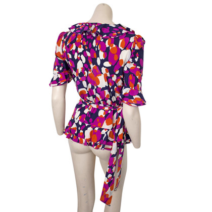 Diane von Furstenberg Wrap-top made of silk
