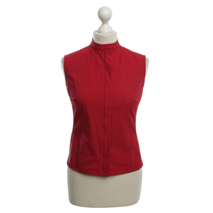 Prada top in red