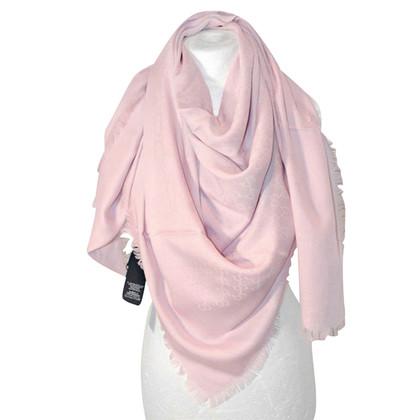Gucci Doek gemaakt van wol en zijde, poeder roze