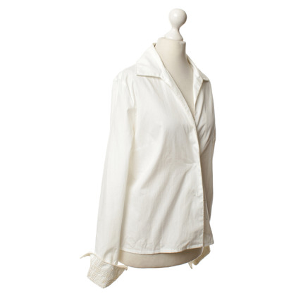 Burberry Blouse with Pearl White