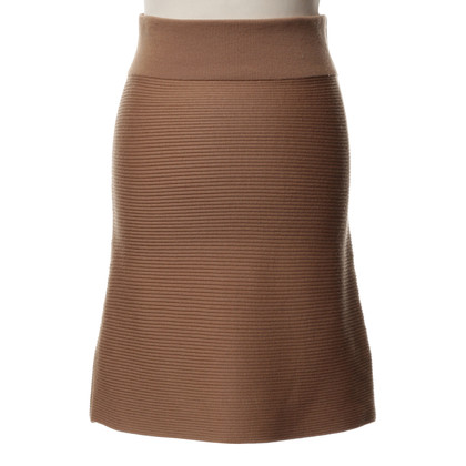 Chloé skirt in knitted look