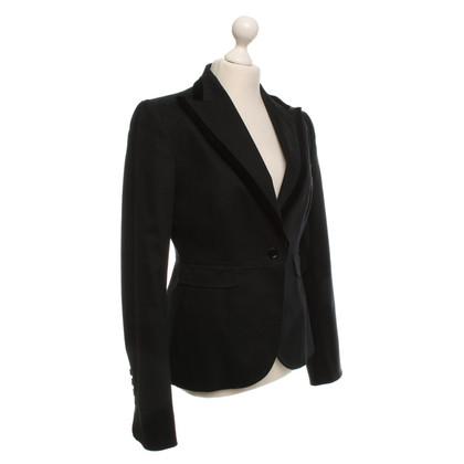 Dolce & Gabbana Blazer in Samt-Details