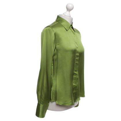Van Laack zijden jurk in groen