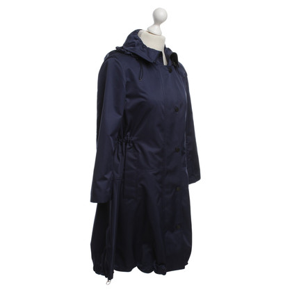 Akris Parka in dark blue