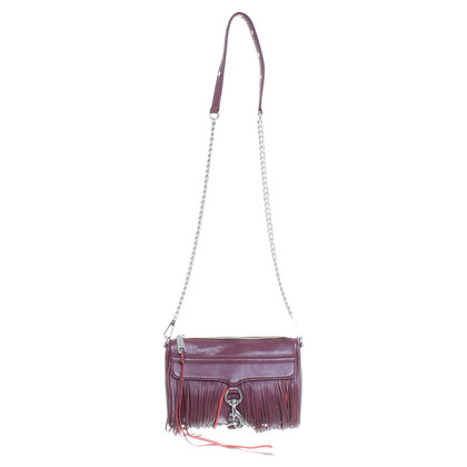 Rebecca Minkoff Bordeaux leather bag with fringe