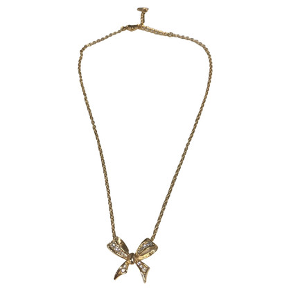 Christian Dior Necklace with glittering bow