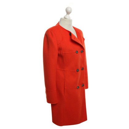 Luisa Cerano Coat in Orange