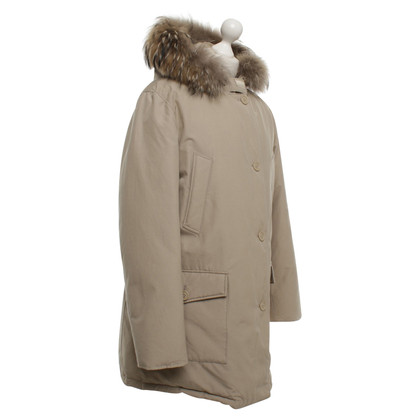 Woolrich Down parka in beige