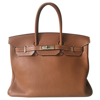 """Hermès """"Birkin Bag 35"""" van het Leer van Togo"""