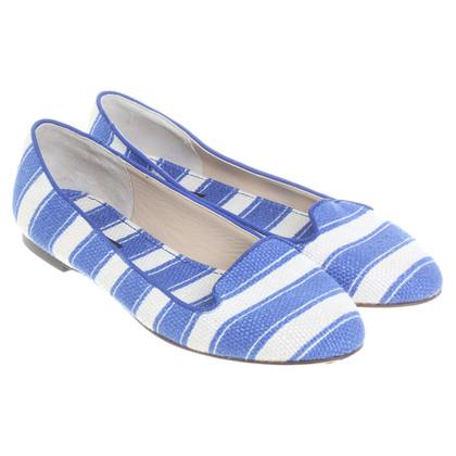Dolce & Gabbana Mocassini in blu/bianco