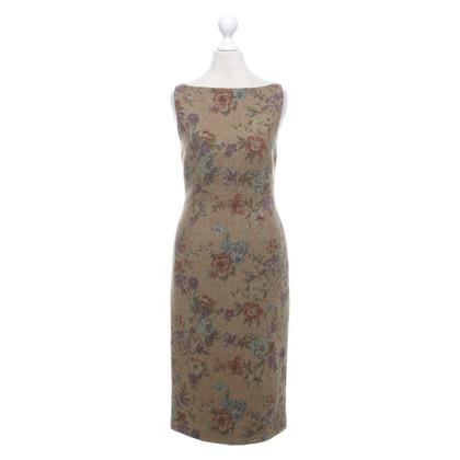 Ralph Lauren Wool dress with a floral pattern