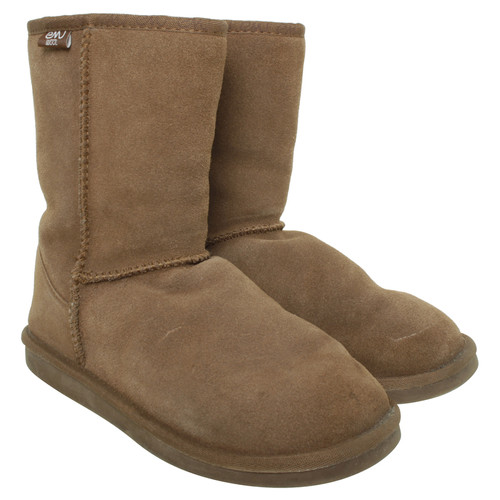 8c893abda0 Emu Australia Boots With Sheepskin Lining Second Hand
