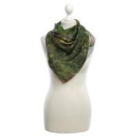 Akris Silk scarf in green