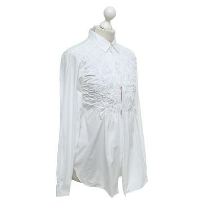 Comme des Garçons Blouse in white