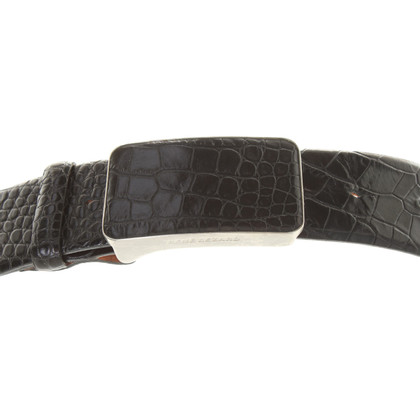 René Lezard Belt in Black