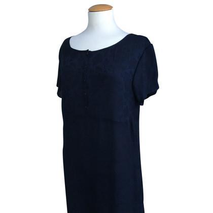 DKNY zijden jurk bloemenprint