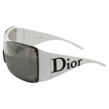 Christian Dior Zonnebril in White
