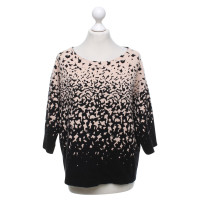 Luisa Cerano Knitted sweater in bicolour