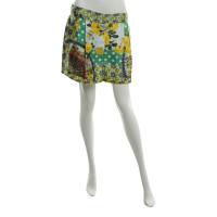 Dolce & Gabbana Seidenshorts in Multicolor