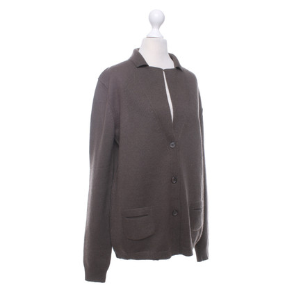 Jil Sander Cardigan with lapel collar