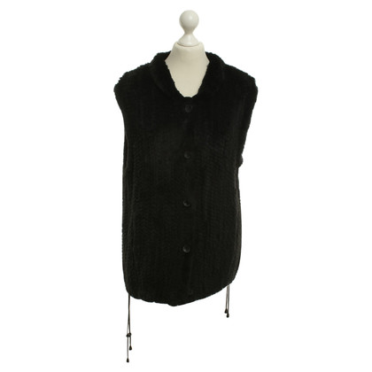 Stefanel Vest in black