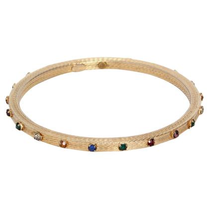 Christian Dior Goud gekleurde armband
