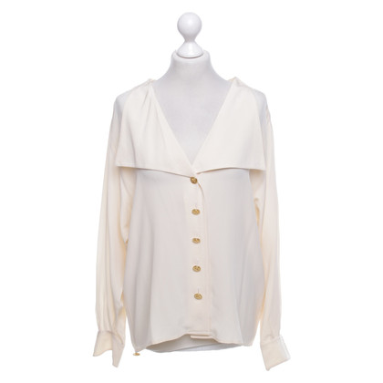 Chanel Bluse in Beige