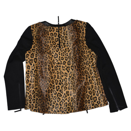 Milly top with leopard pattern
