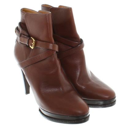 Ralph Lauren Plateau-Boots in Brown