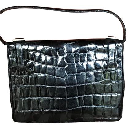 Loewe Handtasche aus Krokodilleder