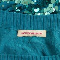 Matthew Williamson Seiden-Minikleid