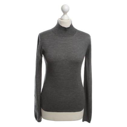 Miu Miu maglione Fine-maglia di colore grigio