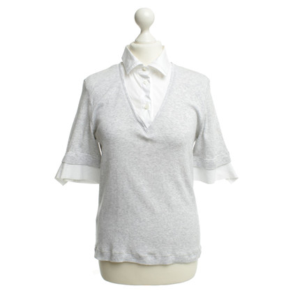 Brunello Cucinelli Blouses shirt Heather grijs