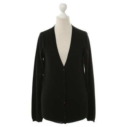 Escada Cardigan in cashmere nero