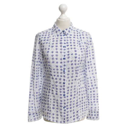 Strenesse Shirt blouse with stars motifs