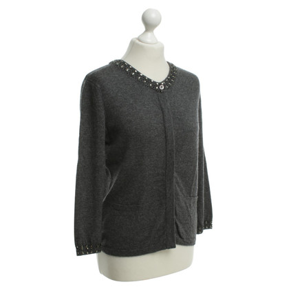 Allude Cardigan in grey