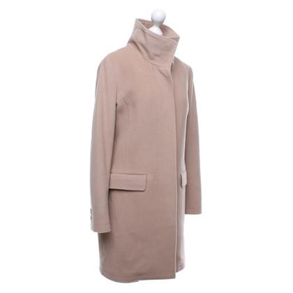 Closed Cappotto di lana in cammello