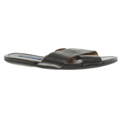 JOOP! Leather sandals in black