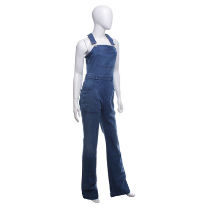 Stella McCartney Latzhose in Blau