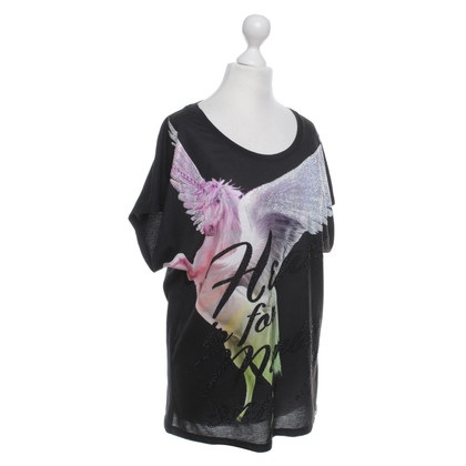 Philipp Plein T-Shirt mit Strass-Applikation
