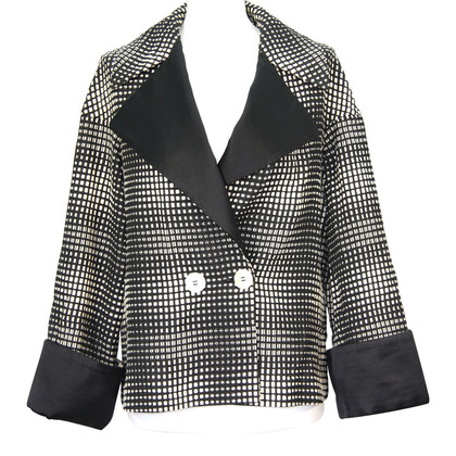 Escada Jacket in black/white