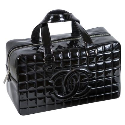 Chanel Gewatteerde lakleder handtas