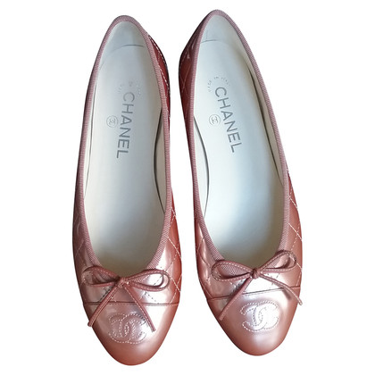 Chanel Lackleder-Ballerinas