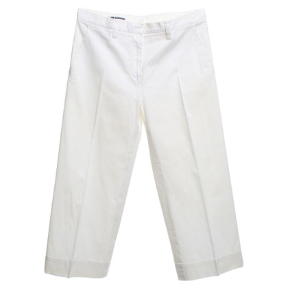 Jil Sander Width trousers in cream white