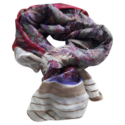 Etro Scarf in linen / silk