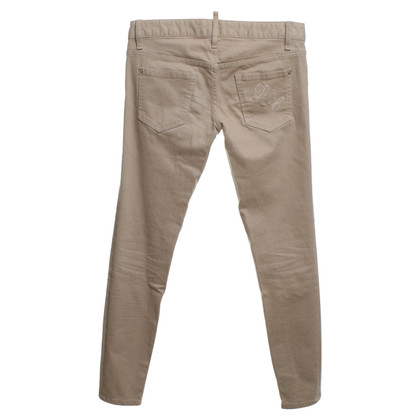 Dsquared2 Ocher-colored trousers